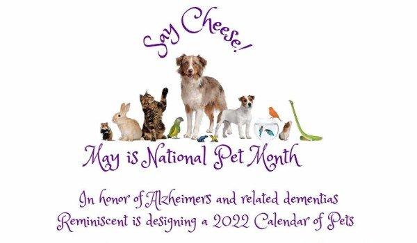 Pet Calendar Fundraiser 2021