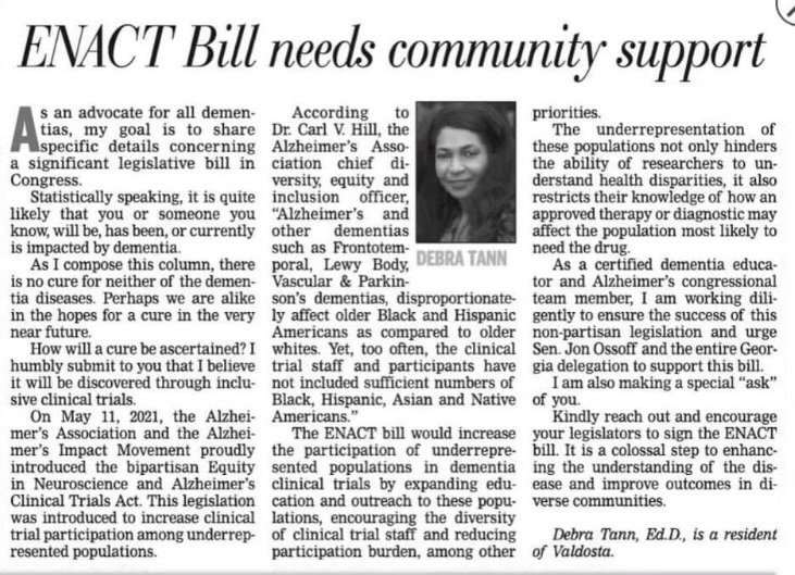 Dr. Tann on the ENACT Bill